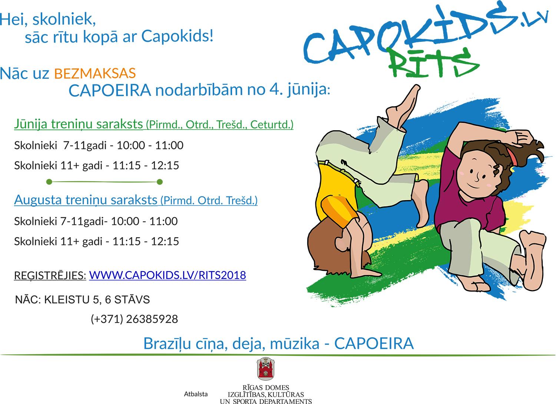 Capokids Утро! – Проект с Рижской Думой