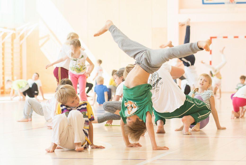 Sākusies jaunā capoeira sezona Capokids!